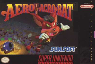Aero the Acrobat Cover Artwork