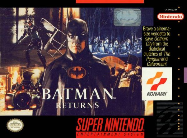 Batman Returns Cover Artwork