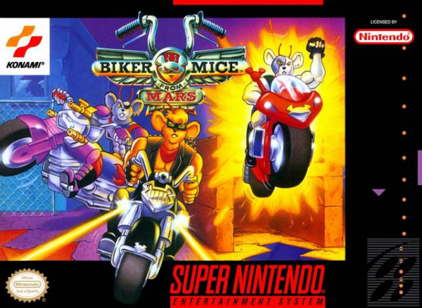 Biker Mice From Mars Cover Artwork
