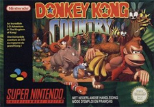 Donkey Kong Country Cover Artwork