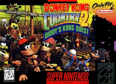 Donkey Kong Country 2: Diddy's Kong Quest Cover Artwork