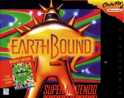 EarthBound Cover Artwork