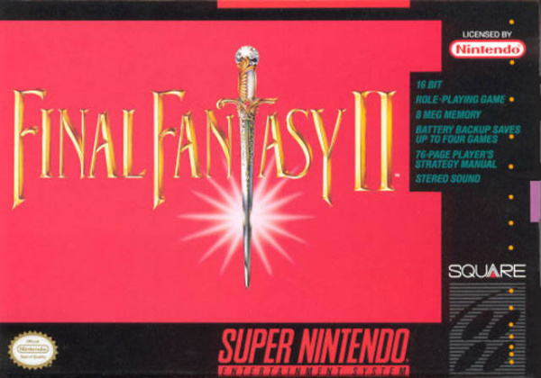 Final Fantasy II Cover Artwork