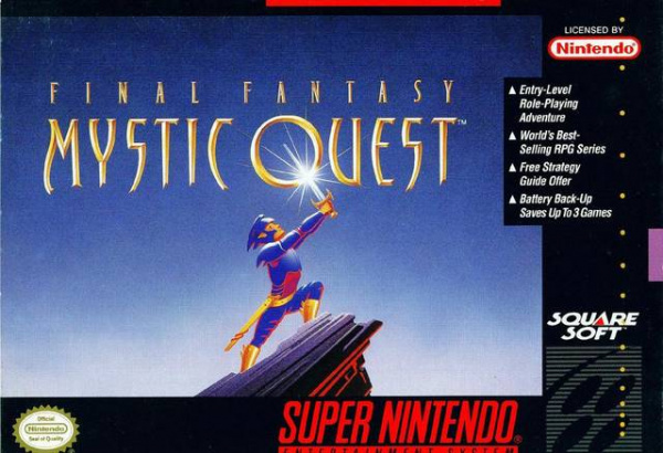 Final Fantasy: Mystic Quest Cover Artwork