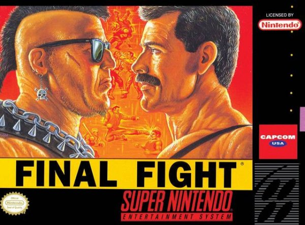 Final Fight Cover Artwork