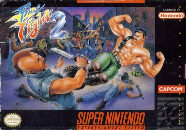 Final Fight 2 Cover Artwork