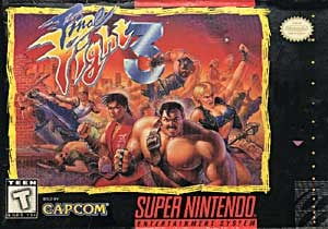 Final Fight 3 Cover Artwork