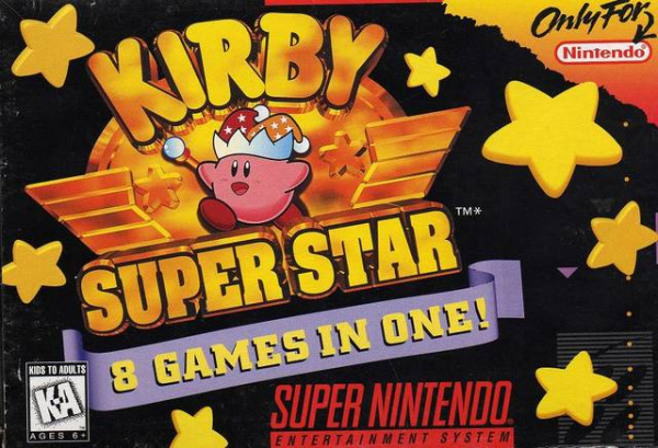 Kirby Super Star Cover Artwork