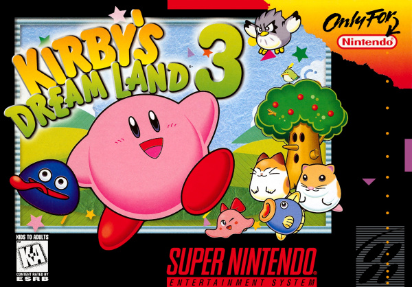 Kirby's Dream Land 3 Cover Artwork