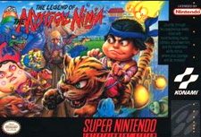 The Legend of the Mystical Ninja Cover Artwork