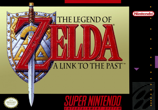 The Legend of Zelda: A Link to the Past Cover Artwork