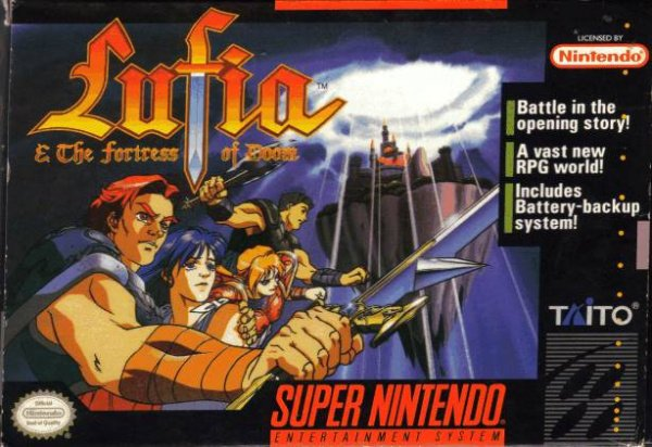 Lufia & The Fortress of Doom Cover Artwork