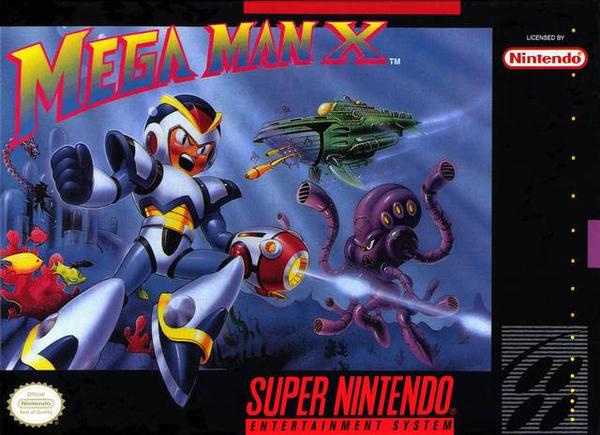 Mega Man X Cover Artwork