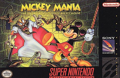Mickey Mania Cover Artwork