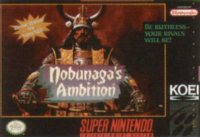 Nobunaga's Ambition Cover Artwork