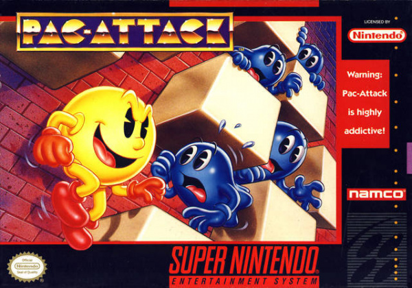 Pac-Attack Cover Artwork