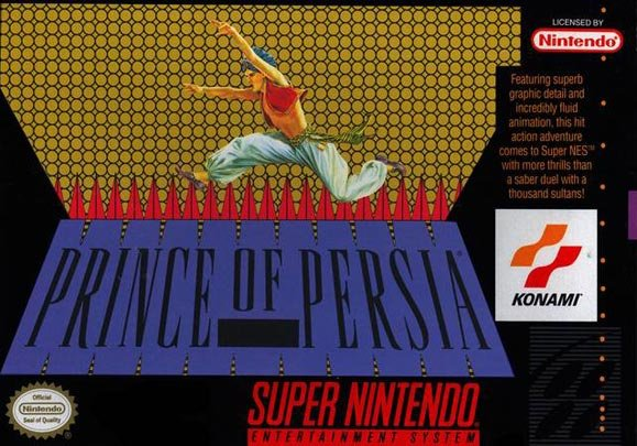 Prince of Persia Cover Artwork