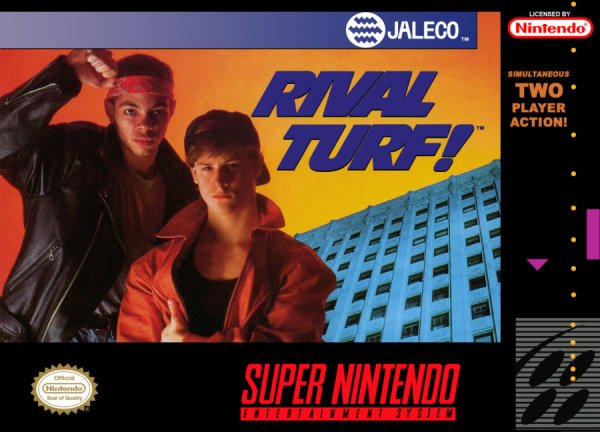 Rival Turf! Cover Artwork