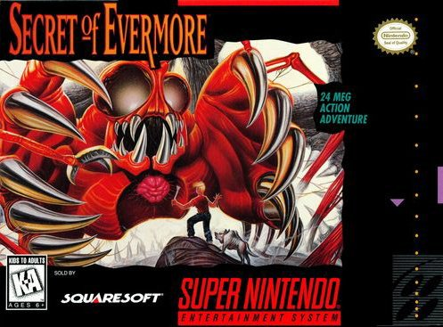 Secret of Evermore Cover Artwork
