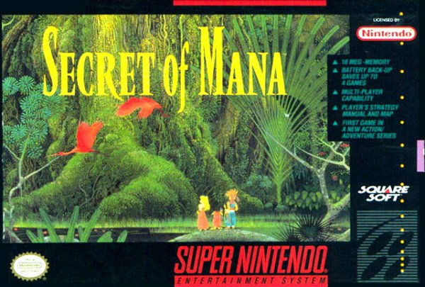 Secret of Mana Cover Artwork
