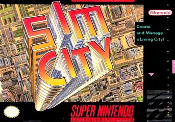 SimCity Cover Artwork