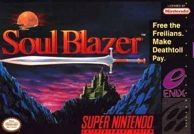 Soul Blazer Cover Artwork