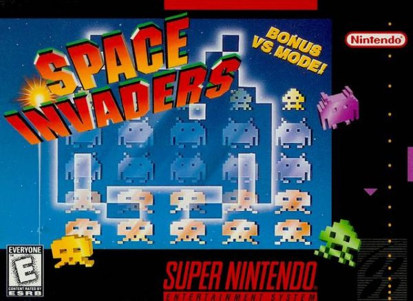 Space Invaders: The Original Game Cover (Click to enlarge)