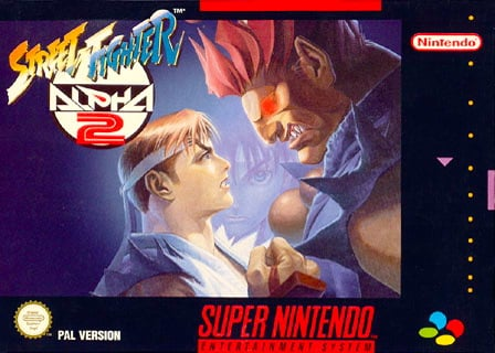 Street Fighter Alpha 2 Cover Artwork