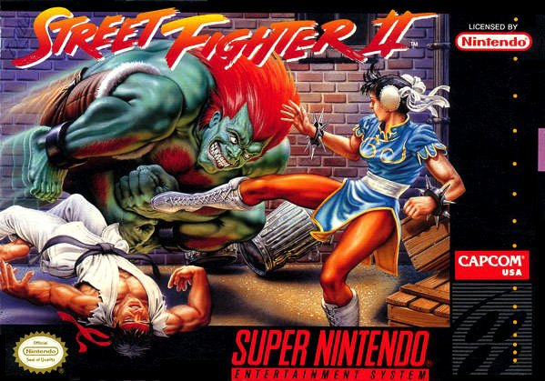 Street Fighter II: The World Warrior Cover Artwork