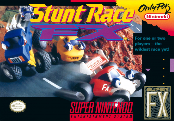 Stunt Race FX Cover Artwork