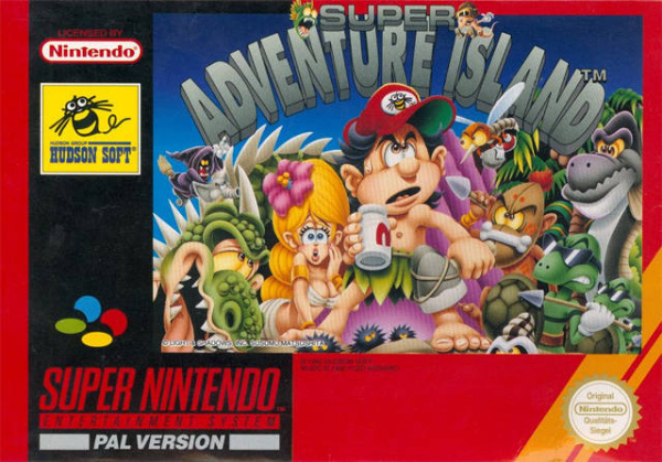 Super Adventure Island Cover Artwork