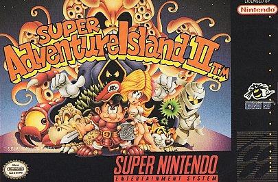 Super Adventure Island II Cover Artwork