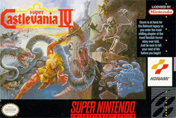 Super Castlevania IV Cover Artwork