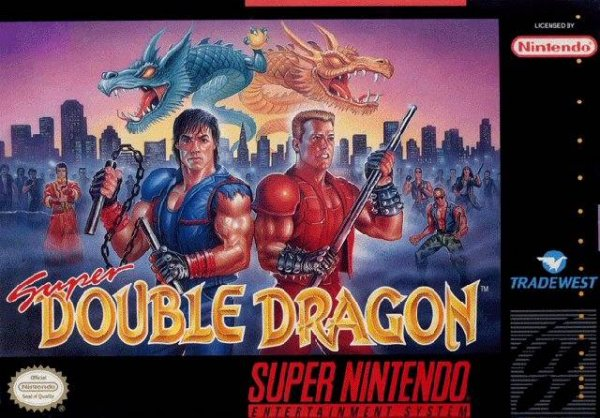 Super Double Dragon Cover Artwork