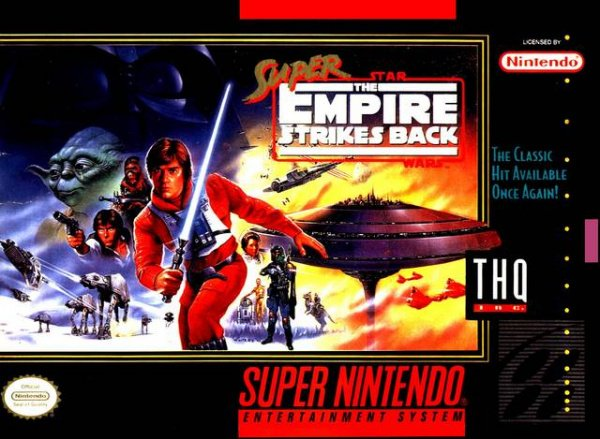 Super Empire Strikes Back Cover Artwork