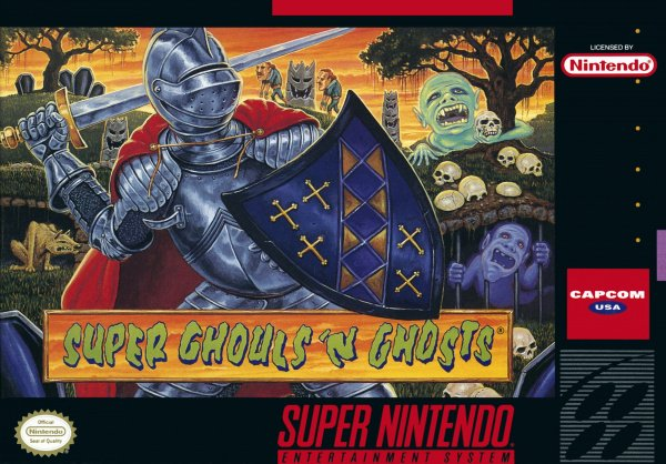Super Ghouls 'n Ghosts Cover Artwork