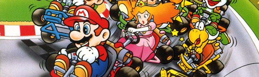 Super Mario Kart — Super NES
