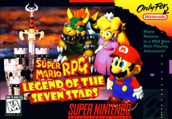 Super Mario RPG: Legend of the Seven Stars Cover Artwork
