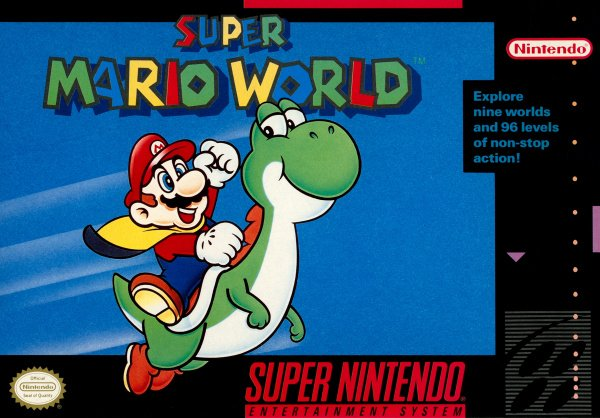 Super Mario World Cover Artwork