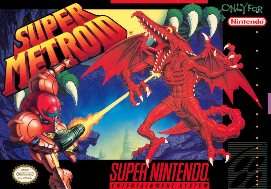 8. Super Metroid