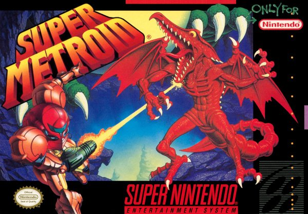 Super Metroid Cover Artwork