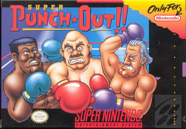 Super Punch-Out!! Cover Artwork