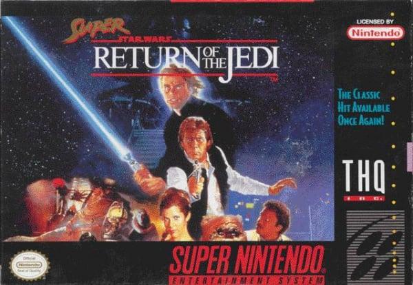 Super Return of the Jedi Cover Artwork