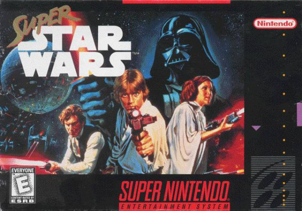 Super Star Wars Cover Artwork