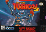 Super Turrican 2 Cover (Click to enlarge)