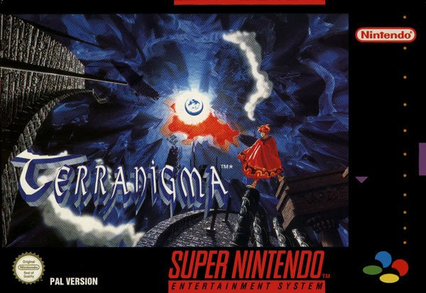 Terranigma Cover Artwork