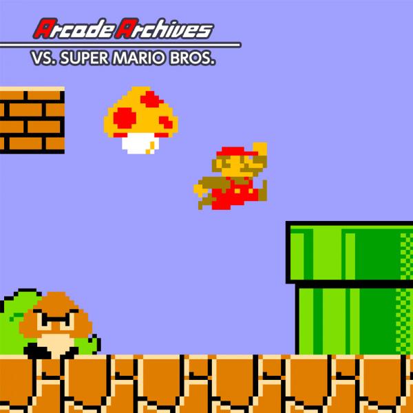 arcade archives vs super mario bros review switch eshop