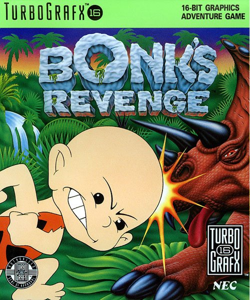 Bonk's Revenge Cover Artwork
