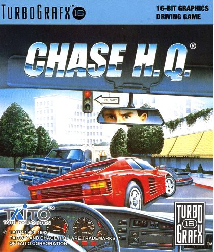 Chase H.Q. Cover Artwork