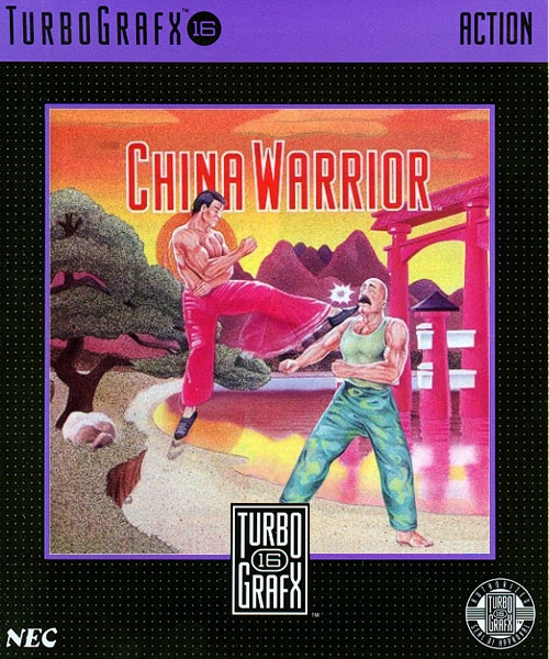 China Warrior Cover Artwork